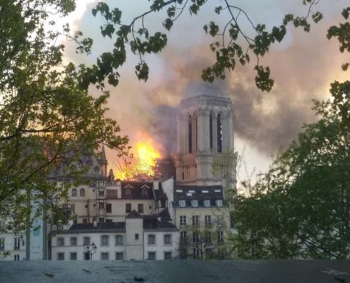 Brand Notre Dame de Paris