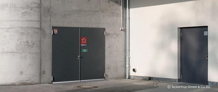 Beispiel Brandüberschlag über Eck von Öffnung zu Öffnung